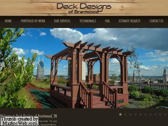 deck designs of brentwood nashvillelife com