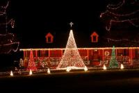 Christmas Lights on Charlotte, Franklin Tennessee