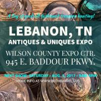 Lebanon, TN Antiques & Uniques Expo at Wilson County Expo Center