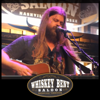 Brit Stokes playing live at Whiskey Bent Saloon