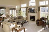 Living Room of a Drees Home