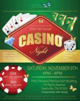 Scars Uncovered 2019 Fall Soiree and Casino Night