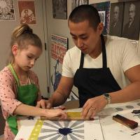 Family Programs: Make Letterpress Art with Hatch Show Print