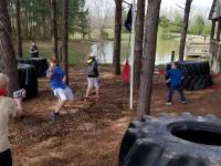 Nerf Wars Birthday Party in Middle TN