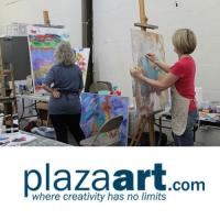 Open Studio with Figure Model class at Plaza Art