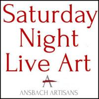 Saturday Night Live Art at Ansbach Artisans in Franklin Tennessee