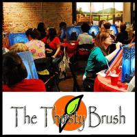 The Thirsty Brush Painting Class in Nashville Tennessee