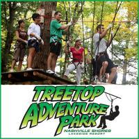 Treetop Acventure Park - Enjoy Zip Line in Nashville Tennessee