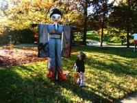 Scarecrows at Cheekwood Gardens