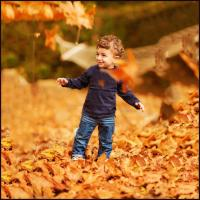 playing in leaves Nashville Tennessee