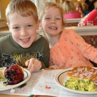 Kids love to go out to eat - so why not go out to eat at a place that loves kids!