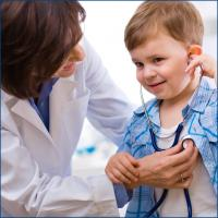 Boy being treated at one of Nashville's Top Pediatrics Centers