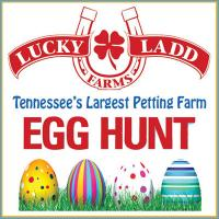 Lucky Ladd Farms Egg Hunt in Nashville Tennessee