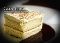 Amerigo's Tiramisu for Dessert