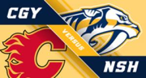 NASHVILLE PREDATORS VS. CALGARY FLAMES