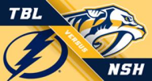 NASHVILLE PREDATORS VS. TAMPA BAY LIGHTNING