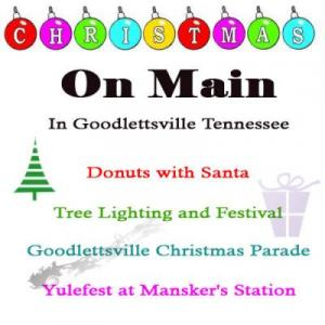 Christmas on Main Street Parade and Festival in Goodlettsville Tennessee