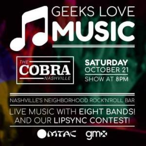Neptune the Mystic, Allofher Twitch, Night Sabers, Spookulele, Vladopus9, Lost Generation, Flesh Eater, Resistance House Band, cobra, the cobra, the cobra nashville, live music, nashville live music