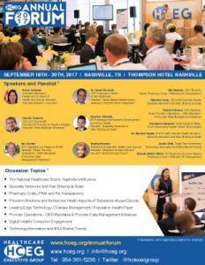 HCEG 2017 Annual Forum