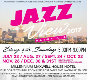 4th Sunday of Every Month - Jazz With A View Nashville