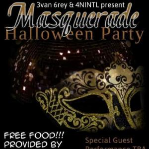 Evan Grey, 4NINTL, Masquerade Party, costume, prize, prizes, dj, live music, Nashville live music, Cobra, The Cobra, The Cobra Nashville, Sing-Ha Bar & Grill, Sing-Ha