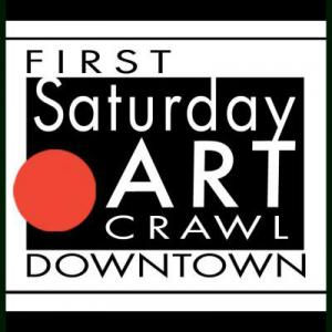 First Saturday Art Crawl in Downtown Nashville