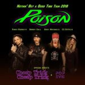 Poison w/Cheap Trick and Pop Evil at the Ascend Amphitheater
