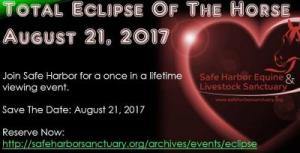 SHELS Total Eclipse of the Horse August 21 in Cottontown