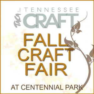 Tennessee Craft Annual Fall Craft Fair at Centennial Park