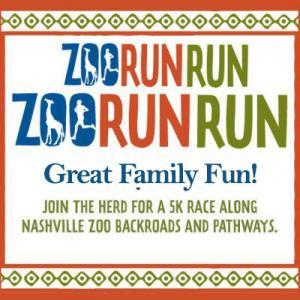Zoo Run Run 5K in Nashville Tennessee