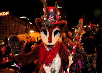 Nashville Christmas Parade NashvilleLifecom Downtown Downtown JdIZSlVO