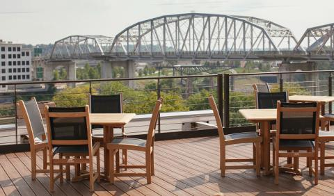 Outdoor patio for Best places for dinner in nashville