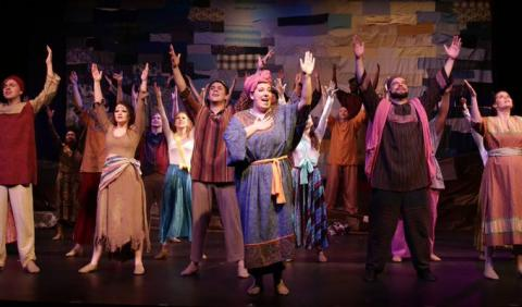 Nashville Circle Players Children of Eden the musical. Looby Theater.