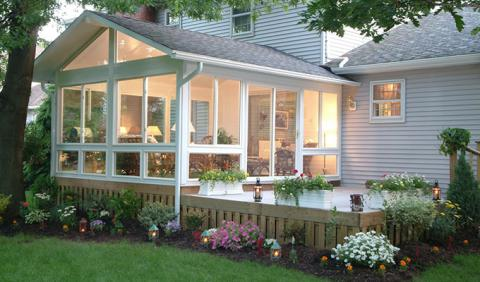 Sunrooms and Patio Enclosures in Nashville
