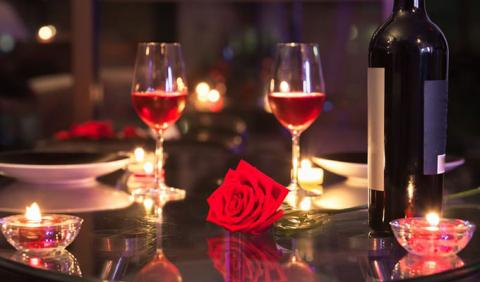 Perfect Romantic Dinner with your sweetie
