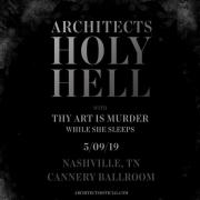 Architects - Holy Hell North America at Cannery Ballroom