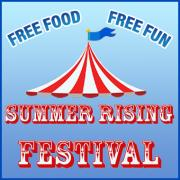 Summer Rising Festival Logo Image