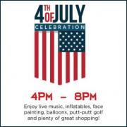 July 4th Celebration in Mt Juliet Providence Mall