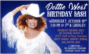 DOTTIE WEST BIRTHDAY BASH