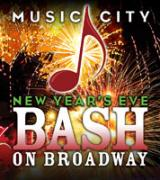 New Year's Eve Bash on Broadway in Nashville TN
