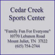 Cedar Creek Sports Center