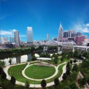 Cumberland Park, Riverfront Downtown Nashville TN