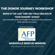The Donor Journey Workshop