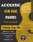 Acoustic on the Patio