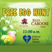 Easter Egg Hunt at Red Caboose Park