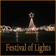 The Festival Of Lights in Lebanon Tennessee