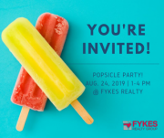 Back-to-School Popsicle Party!