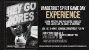 Vanderbilt Cheerleading & Dance Team Game Day Experience 2019