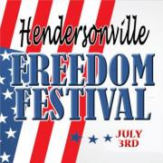 Hendersonville Freedom Festival fireworks will begin at 9:00 pm