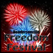 Hendersonville Freedom Festival fireworks will begin at 9:00 pm